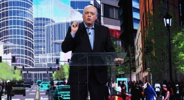 Jim Hackett, il manager che da maggio dello scorso anno ha preso il timone di Ford Motor Company