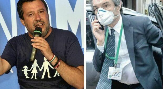 Lega, via Salvini premier dal logo: «Il nostro feudo può franare»