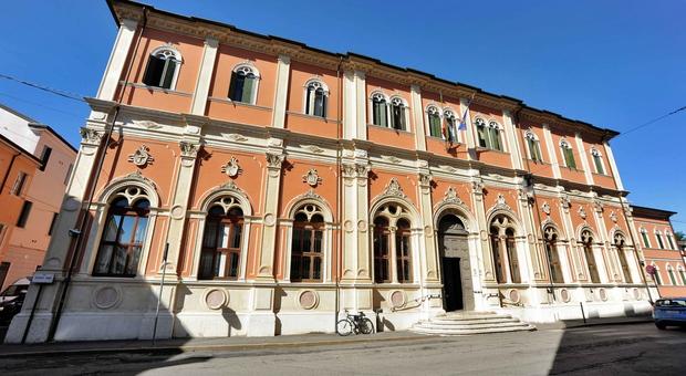 La sede del Tribunale di Rovigo in via Verdi