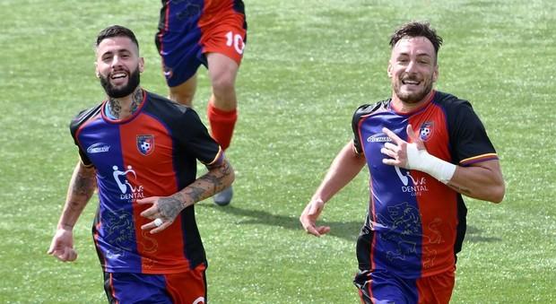 Italiano e Bussi autori dei gol per l'Aranova