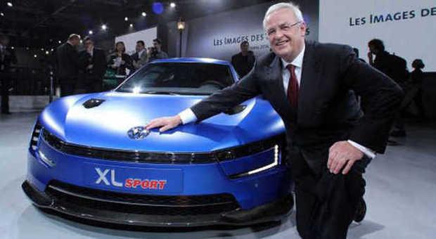 Martin Winterkorn, il numero uno della Volkswagen