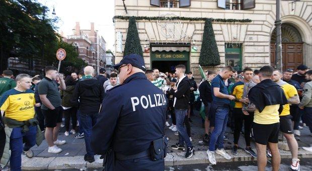 Lazio Celtic, emessi 30 daspo per capi ultrà biancocelesti