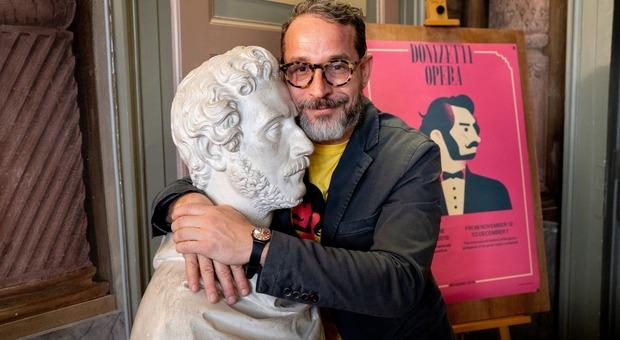 Il direttore artistico del Donizetti Opera, Francesco Micheli