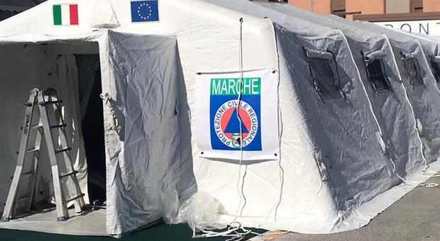 Emergenza Covid-19, quattro candidature per l'ospedale da campo di Marche Sud