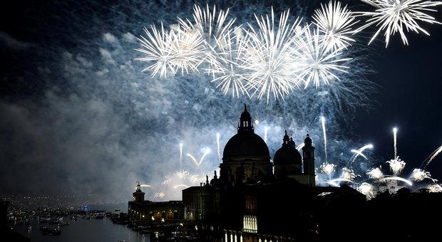 Venezia, Redentore 2019 fuochi