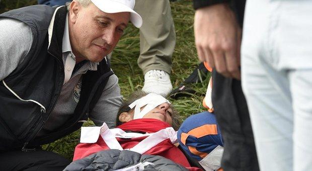 Ryder Cup, tifosa colpita da Koepka perde la vista