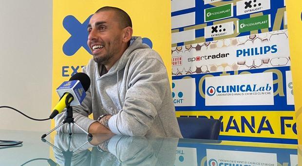 Ivan Piccoli, vice allenatore della Fermana