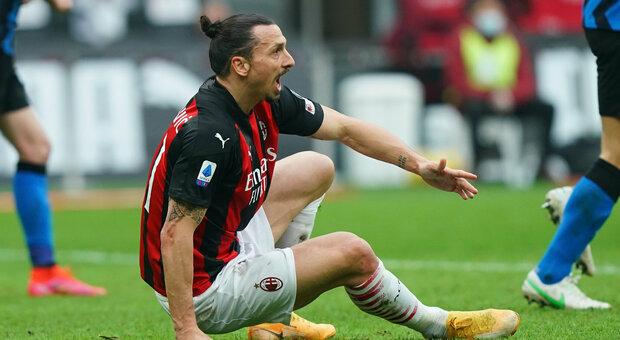 Milan-Inter, le pagelle rossonere: Ibra, un leone in gabbia. Romagnoli, Rebic e Saelemaekers da incubo