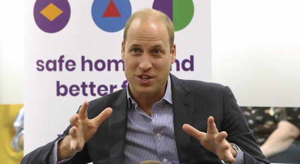 William abbatte il tabù: «Figli gay? Nessun problema, reagirei benissimo»