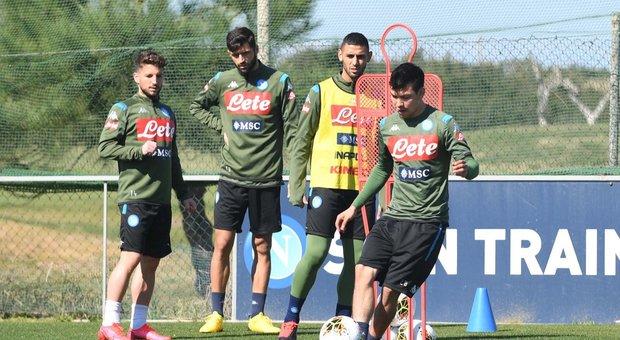 Stop calcio, la rosa del Napoli può perdere 181 milioni di valore