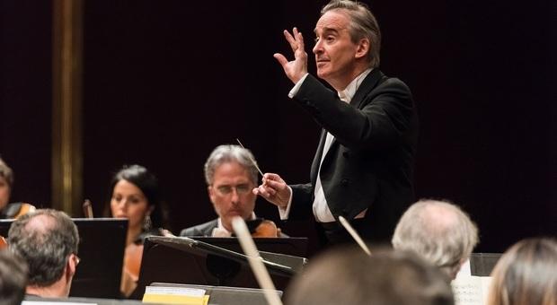Il Maestro James Conlon, direttore musicale dell'Orchestra Sinfonica Nazionale della Rai