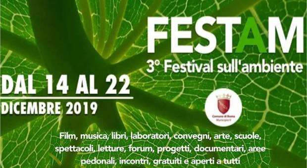 Torna FESTAM, la festa dedicata all'Ambiente del V Municipio di Roma