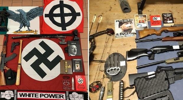 Blitz nelle case degli estremisti di destra: 19 perquisizioni, anche in Veneto