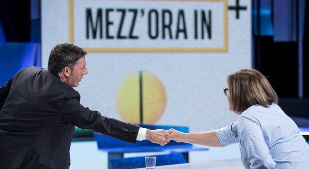 Renzi non vola nei sondaggi ma è di nuovo mattatore nel teatro mediatico