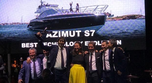 Azimut-Benetti trionfa ai World Yachts Trophies 2018