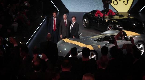 Ferrari svela i nuovi gioielli, ecco le serie speciali Icona Monza SP1e SP2 C