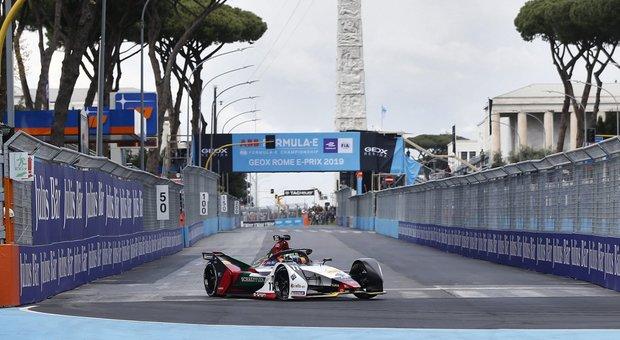 L'E-Prix di Roma dello scorso anno