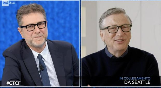 Bill Gates a Che Tempo Che Fa: «Io presidente Usa? No, preferisco occuparmi del clima»
