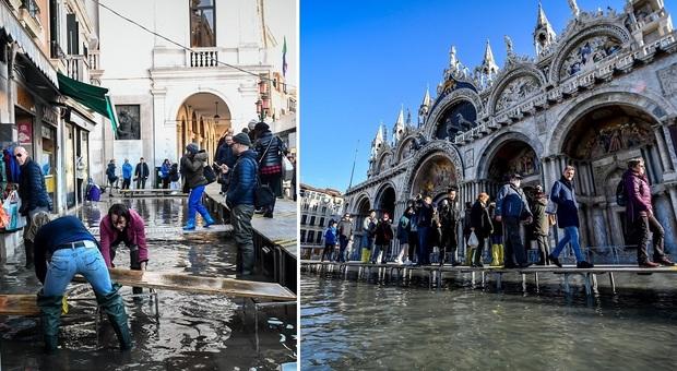 Venezia umiliata: 12 novembre, l'apocalisse della città sommersa