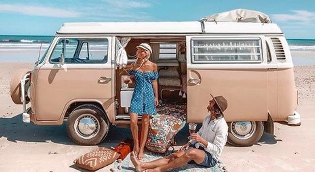 Camper e pullmini Volkswagen: il travel van è il nuovo modo trendy di viaggiare