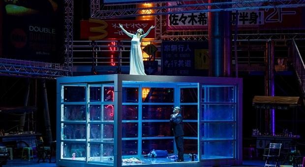 Madama Butterfly, al Comunale di Bologna, con la regia di Damiano Michieletto