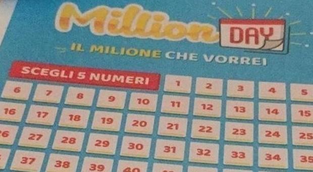 Million Day, l'estrazione di oggi venerdì 15 febbraio 2019: i numeri vincenti