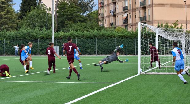 L'Under 17 del Rieti in azione al Gudini (Foto Riccardo Fabi)