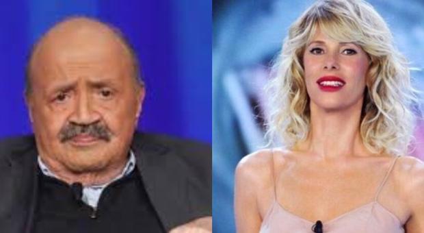 Isola dei Famosi, Maurizio Costanzo difende la Marcuzzi sul caso Fogli: «Coraggiosa, gli insulti sono da condannare»