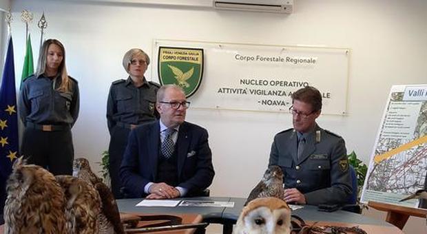 Agenti del Noava, il corpo regionale forestale del Fvg