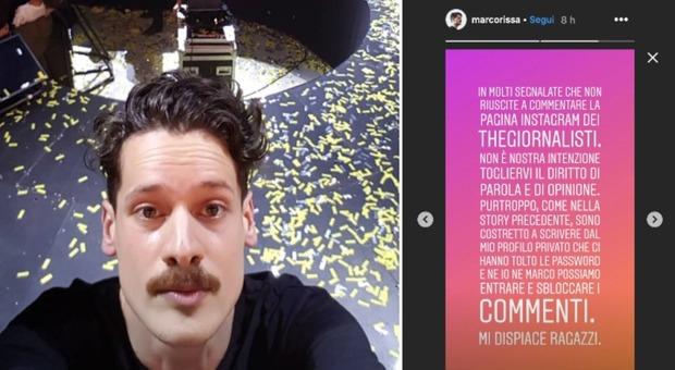 Thegiornalisti, il chirarrista Marco Rissa accusa Tommaso Paradiso: «Ci hanno tolto le password dell'account del gruppo»