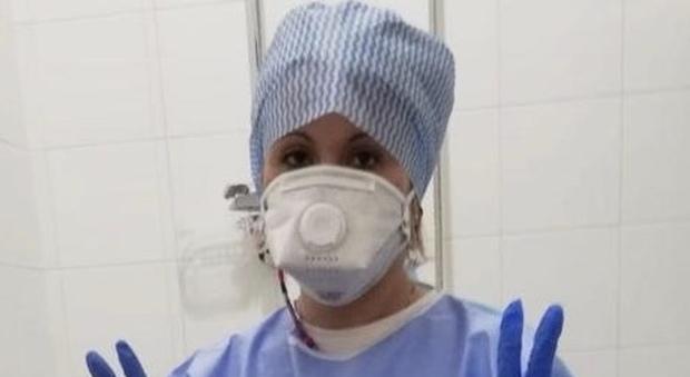 Caterina Borghetti. La nipote di Nonna Peppina infermiera tra i malati Covid-19 a Pesaro