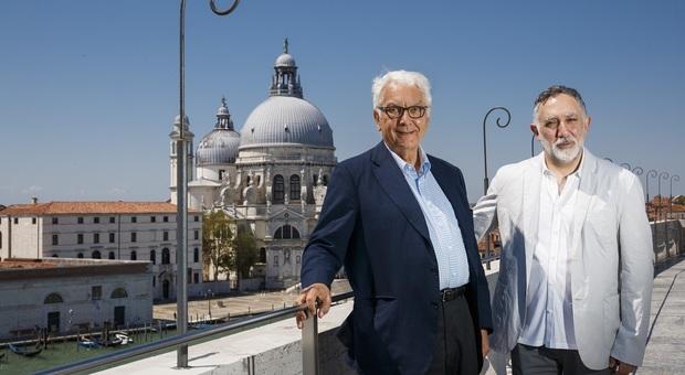 Paolo Baratta con Hashim Sarkis