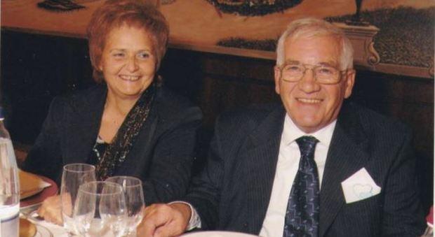 Giuseppe Rasente e la moglie