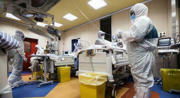Un reparto covid in ospedale