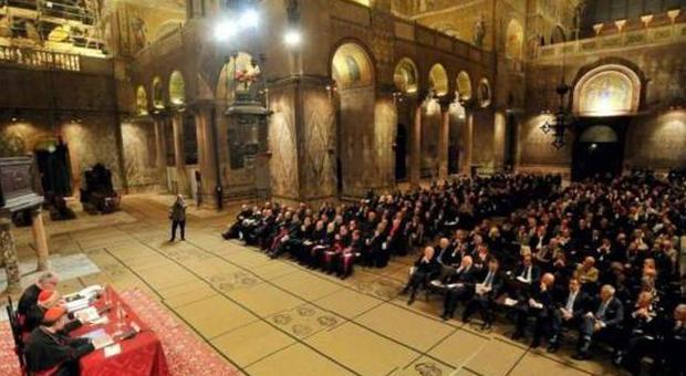L'inaugurazione dell'anno accademico del Marcianum