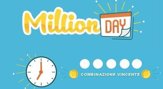 Million Day, diretta estrazione di oggi martedì 19 marzo 2019