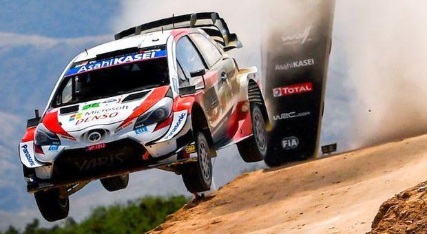 La Toyota Yaris di Sebastien Ogier