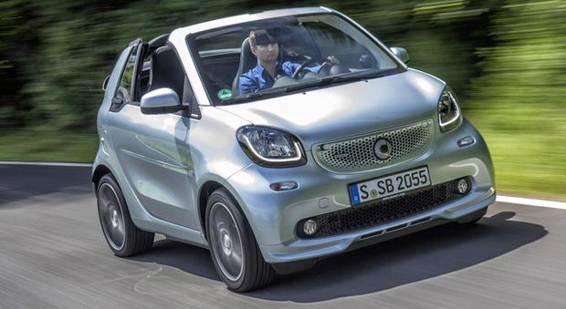 La nuova Smart Brabus cabrio