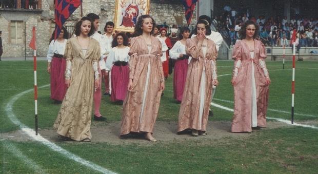 Costumanti della Corsa all'Anello di Narni