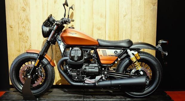 La Moto Guzzi V9 Bobber Sport