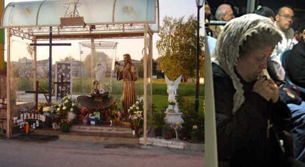 Il capitello della Madonna a Cavarzere e la presunta veggente Alina Coia