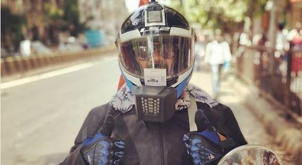 Casco con aria condizionata: l'alleato per chi va in moto d'estate