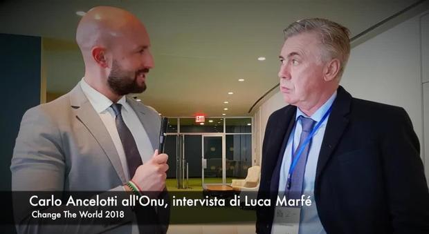 Change The World 2018, intervista a Carlo Ancelotti