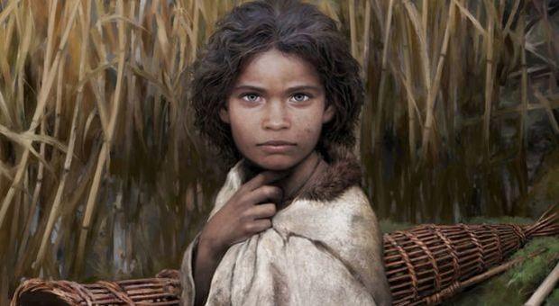 Lola, la ragazza del Neolitico, ricostruita da Tom Björklund