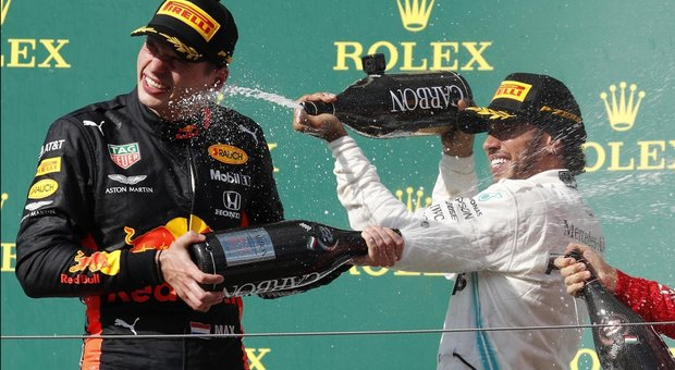 Verstappen ed Hamilton
