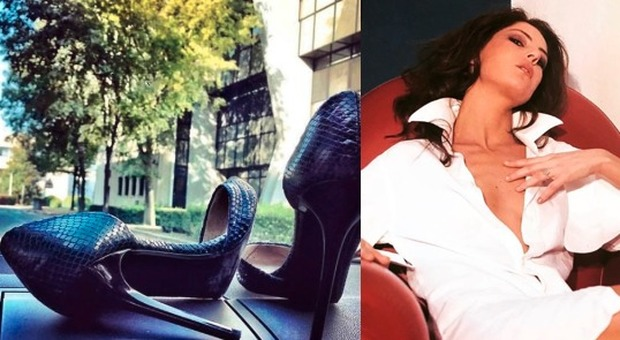 Manuela Moreno e le scarpe rubate, Marina La Rosa senza freni: «Qualcuno le sta annusando e...»