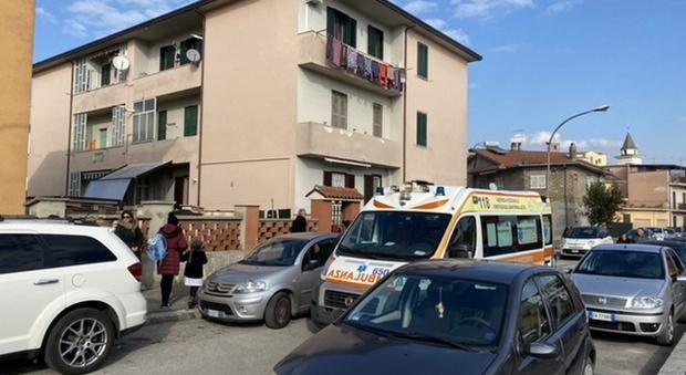 Pontecorvo, bimbo di tre anni cade dal balcone di casa al secondo piano
