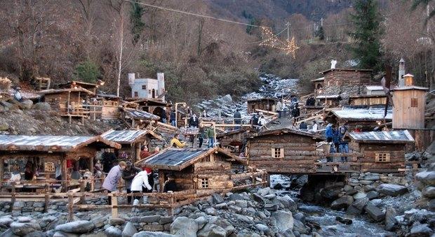 Valtellina - Talamona - Presepi delle Contrade (foto di P&G - Relazioni Pubbliche)