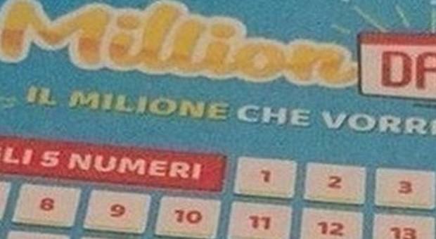 Million Day, i numeri vincenti di oggi martedì 3 dicembre 2019