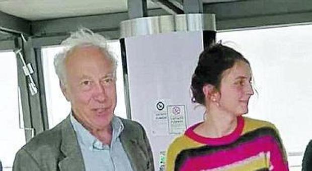 Il presidente Famiano Crucianelli con la regista Alba Rohrwacher